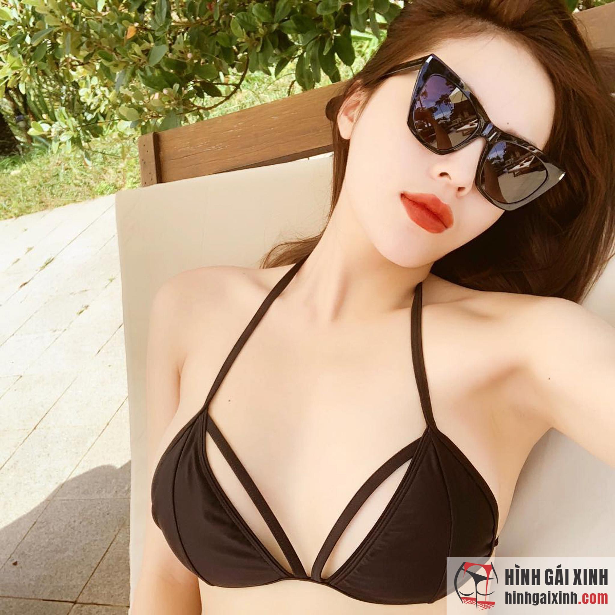 """Chiêm ngưỡng nhan sắc hot girl Đà Nẵng Thái Thảo Nguyên """"mỹ nhân đẹp nhất sân golf"""""""