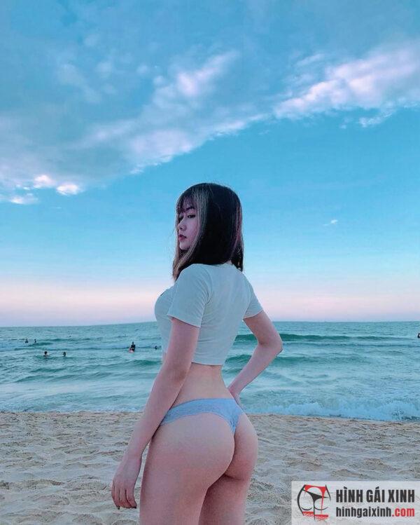 Sở hữu gương mặt xinh như hot girl, cô nàng Nguyễn Trà My khiến cả cộng đồng mạng dậy sóng, hết lời khen ngợi