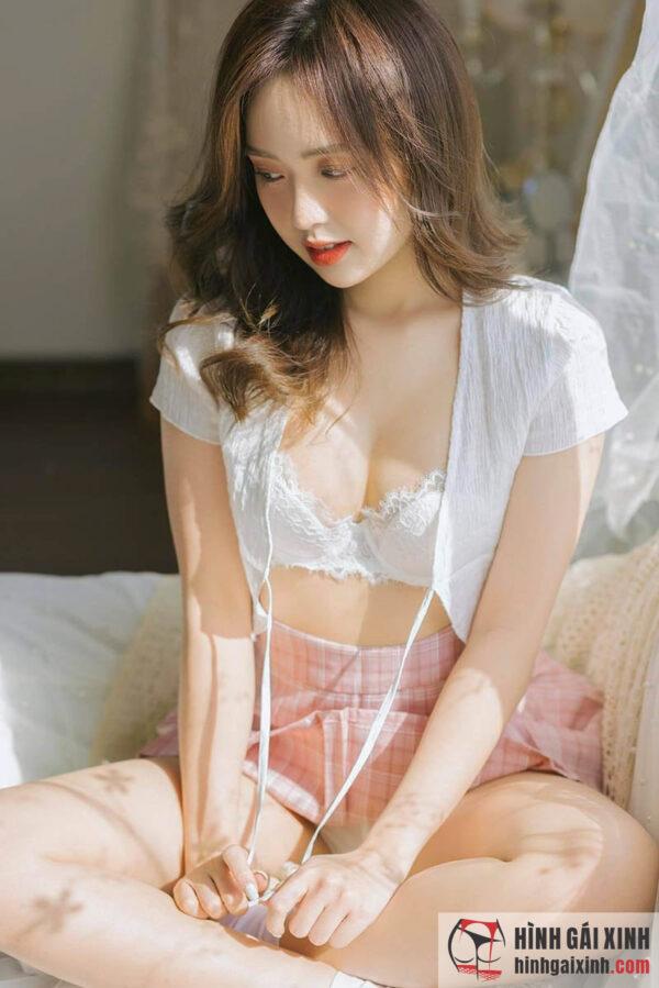 Phương Anh thiêu cháy mọi ánh nhìn với loạt ảnh sexy gái xinh