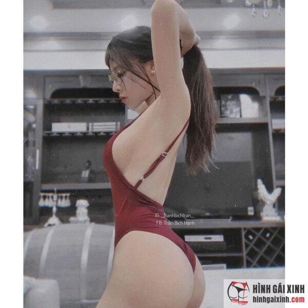hotgirl phòng gym Trần Bích Hạnh