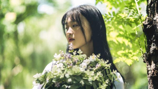 Ảnh gái xinh tóc ngang vai 2k7 mang vẻ đẹp của một hoa hậu đích thực