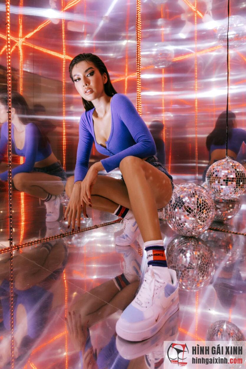Tổng hợp ảnh siêu mẫu Minh Tú khoe body sexy khó cưỡng