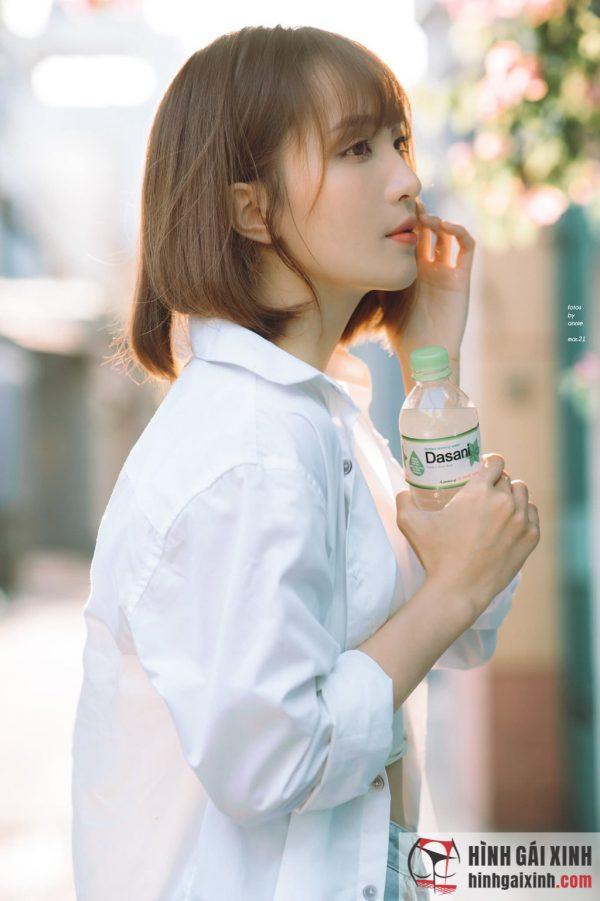 Hot girl 9x đẹp mê mẩn với kiểu tóc ngắn đẹp như sao Hàn