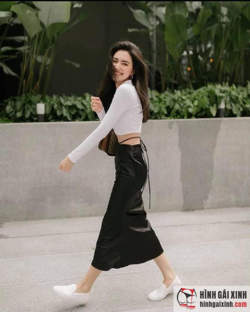Người đẹp Việt nhưng sở hữu nét đẹp lai Tây khiến ai nhìn cũng phải ngất ngây