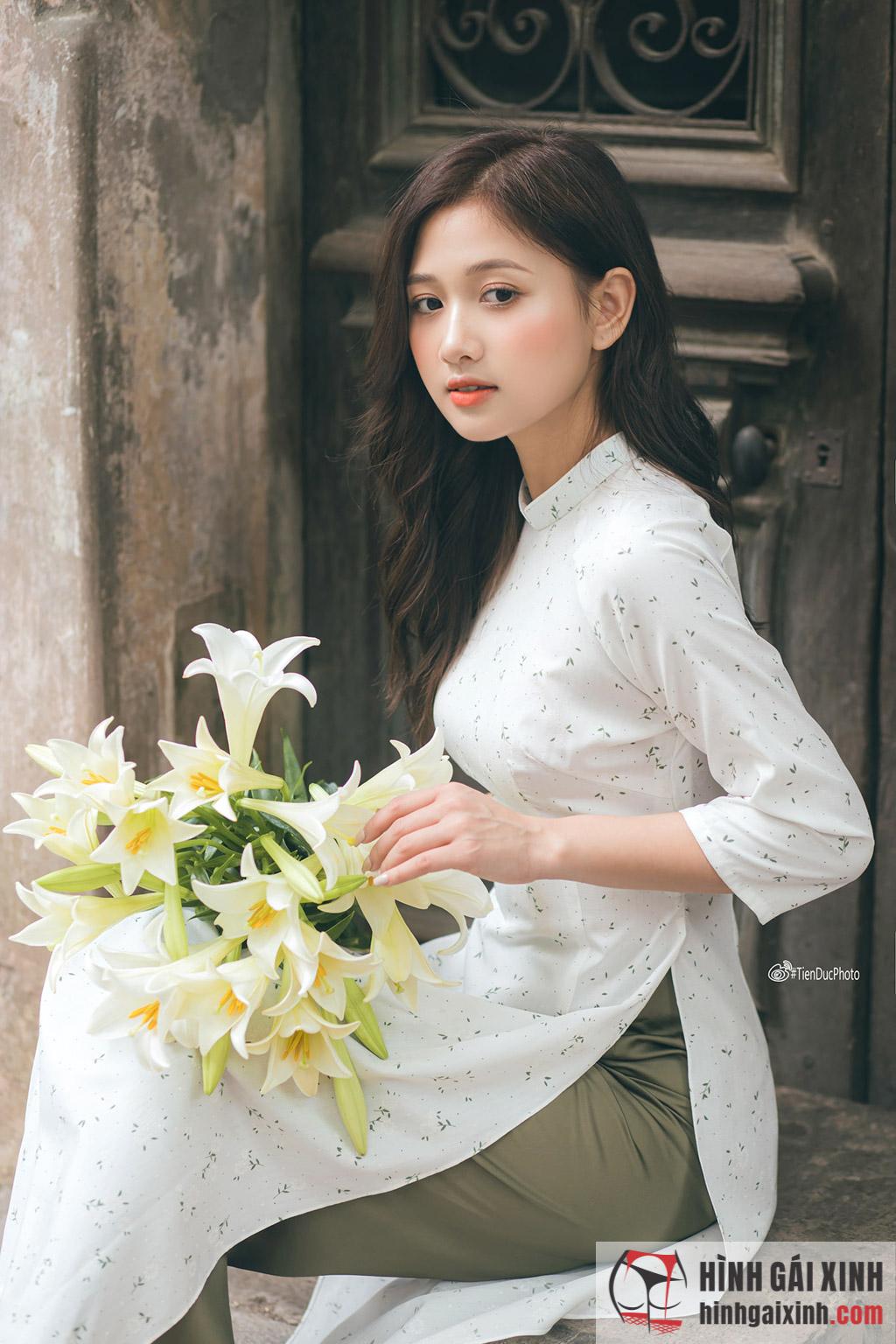 Nữ xinh Việt Nam mang vẻ đẹp dễ thương