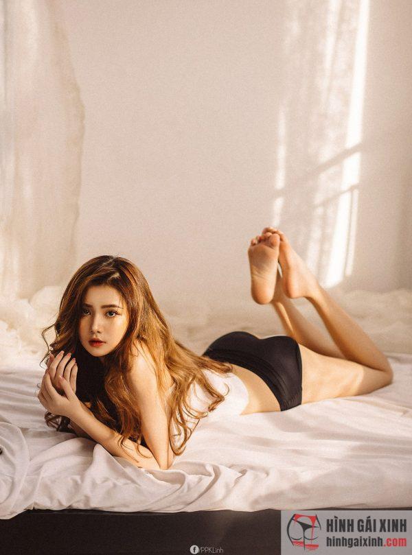 Hot girl Sài Thành Vân Anh 2k2 tung bộ ảnh sexy, gợi cảm, thu hút hàng trăm nghìn lượt like