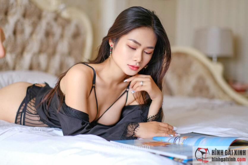Bầu ngực đầy đặn, căng tròn làm nên vẻ đẹp và sự quyến rũ của người phụ nữ