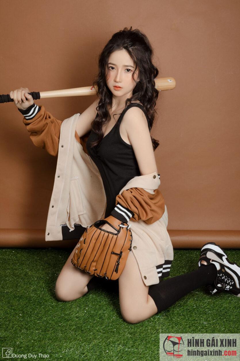 Gái xinh ăn mặc phong cách Hàn Quốc cực dễ thương
