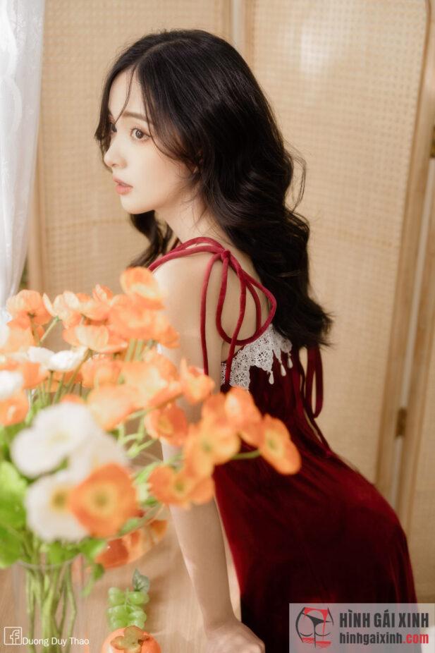 Hình ảnh Chùm ảnh xinh đẹp đầy mê hoặc của mỹ nhân Việt Nam