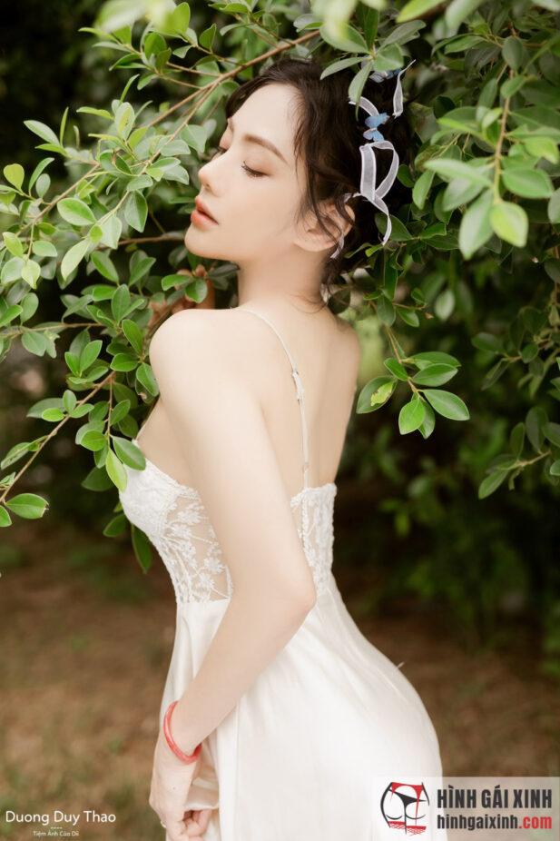Hình ảnh Mê mẩn trước vẻ đẹp ngọt ngào của cô nàng bí ẩn