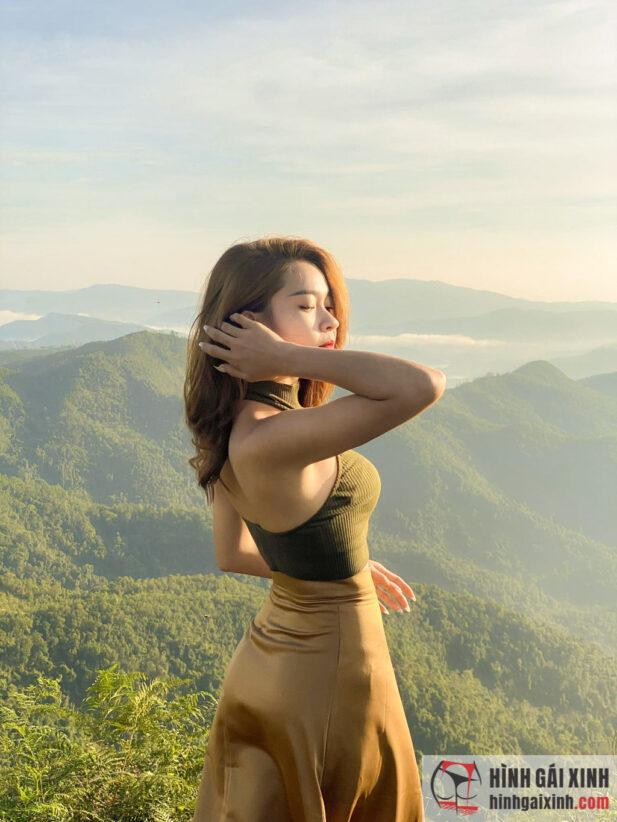 Hình ảnh Hot girl facebook Bĩ Phan xinh đẹp và tài năng