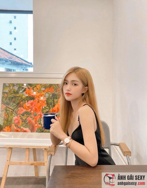 Hình ảnh Không rời mắt trước vẻ đẹp ngọt ngào của hot girl Mai Mỹ Uyên