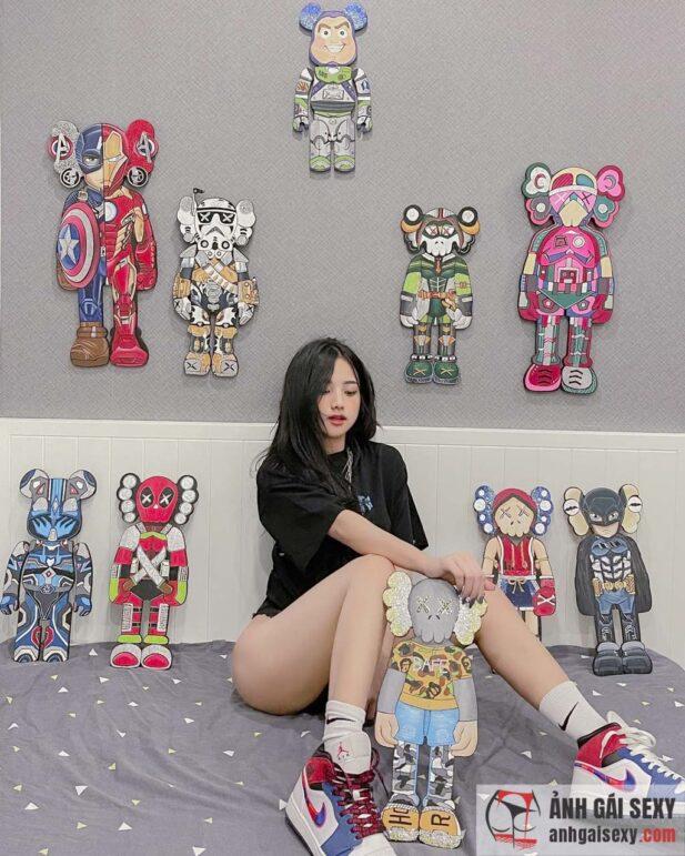 Hình ảnh Rửa mắt với loạt ảnh khoe body của Khương Thị Thanh Hằng